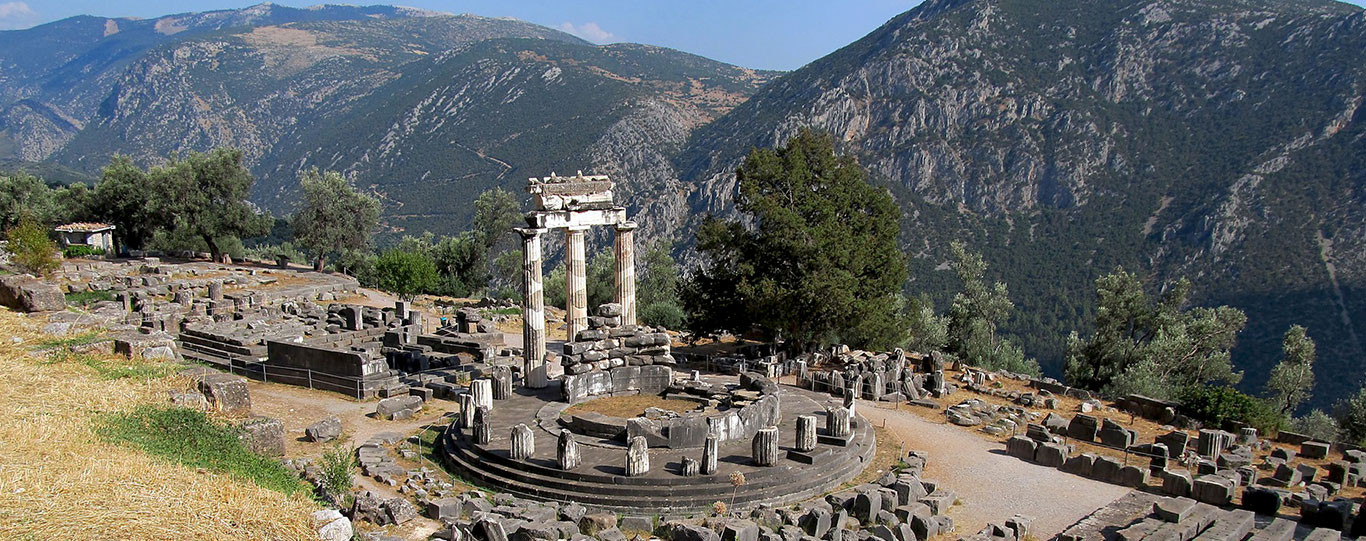 The Pan-Hellenic Sanctuary of Delphi - Unesco World Heritage Site