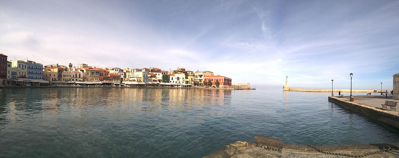 Beautiful Chania Harbour