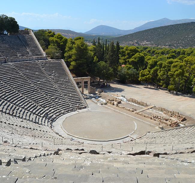 Epidaurus Theatre Photo